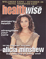Health Wise Magazing Featuring Sun Sauce Beauty & Skin Care Products